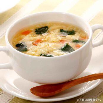 葉酸たまごスープ