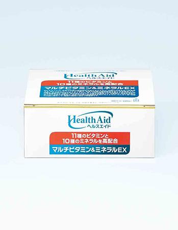 ヘルスエイド®マルチビタミン&ミネラルEX